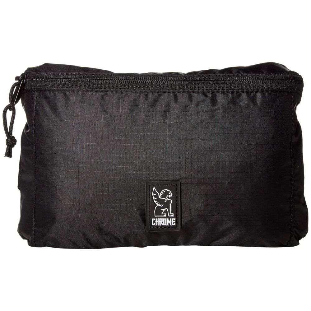 クローム インダストリーズ Chrome レディース ボディバッグ・ウエストポーチ ウエストバッグ バッグ【Packable Waistpack】Black