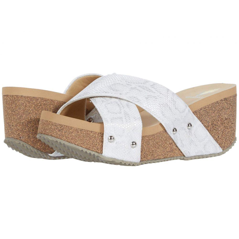 ボラティル VOLATILE レディース サンダル・ミュール シューズ・靴【Tresa】White