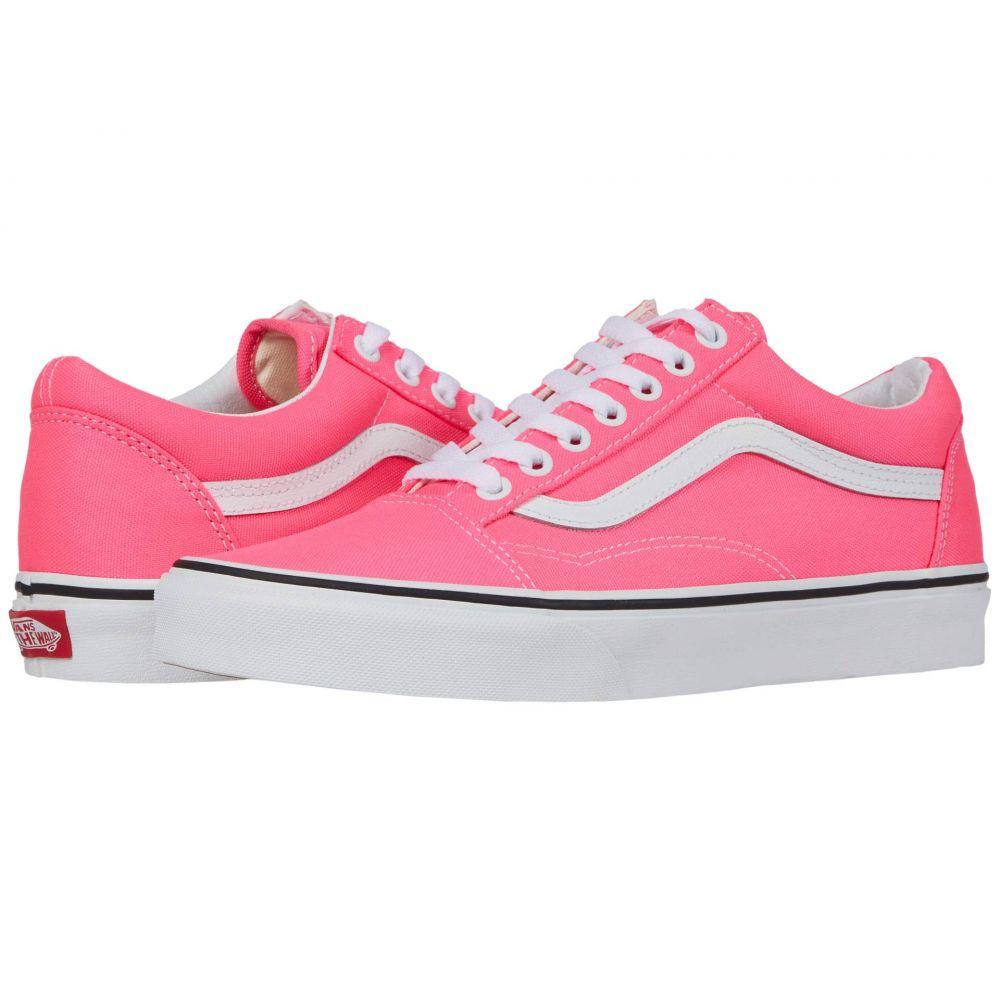 ヴァンズ Vans レディース スニーカー シューズ・靴【Old Skool(TM)】Knockout Pink/True White