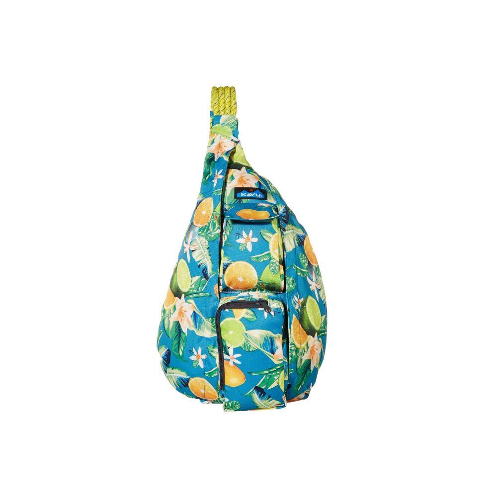 カブー KAVU レディース ボディバッグ・ウエストポーチ バッグ【Rope Sling】Ocean Citrus