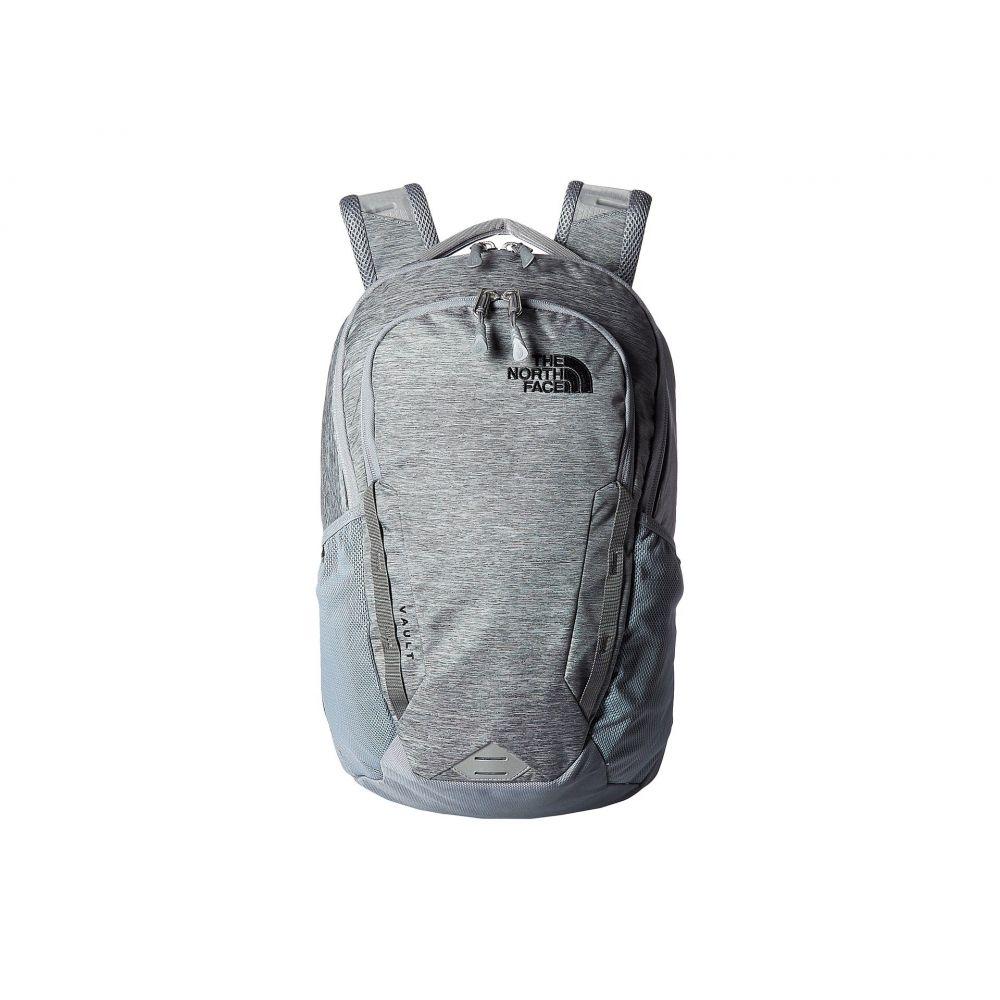 ザ ノースフェイス The North Face レディース バックパック・リュック バッグ【Vault Backpack】Mid Grey Dark Heather/TNF Black