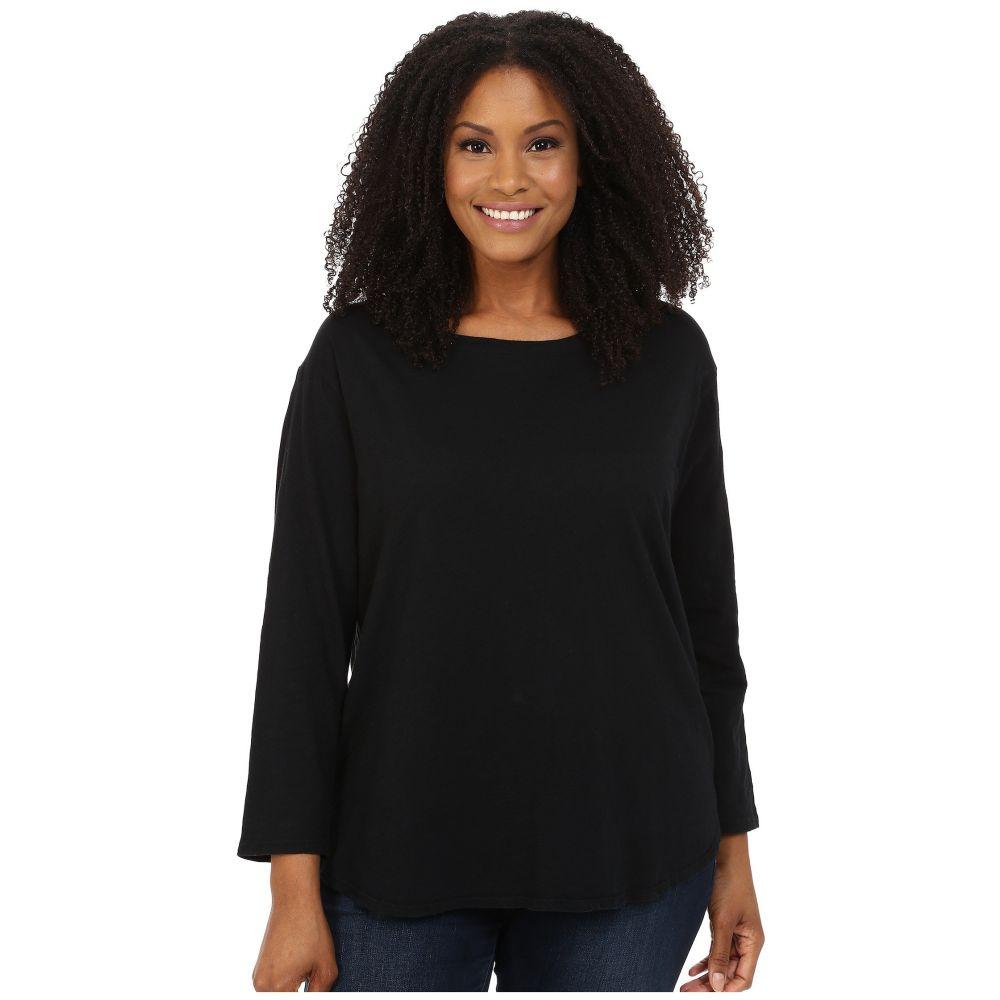 フレッシュプロデュース Fresh Produce レディース Tシャツ 大きいサイズ トップス【Plus Size Catalina Shirt】Black