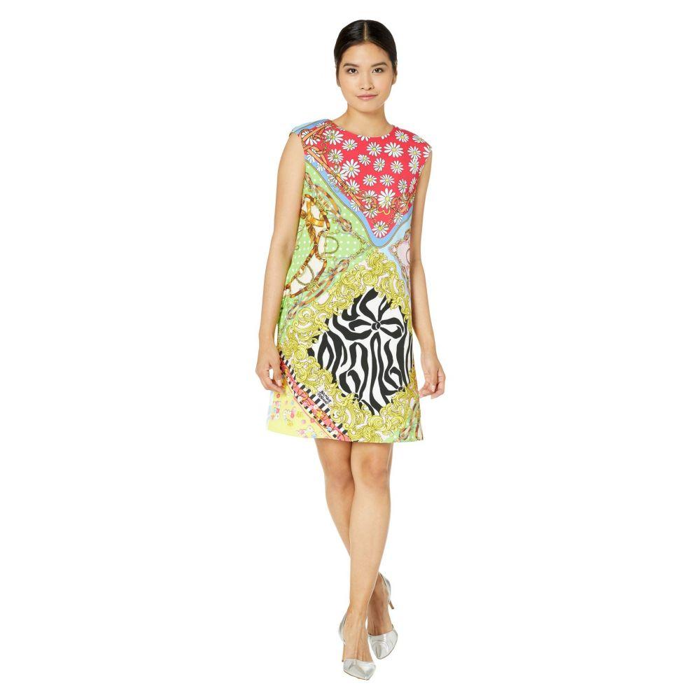 モスキーノ Boutique Moschino レディース ワンピース シフトドレス ワンピース・ドレス【Scarf Print Shift Dress】Multi