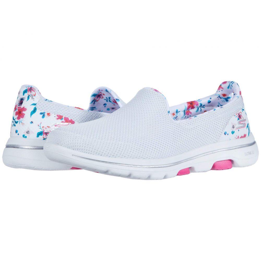 スケッチャーズ SKECHERS Performance レディース スニーカー シューズ・靴【Go Walk 5 - Flowery】White/Multi