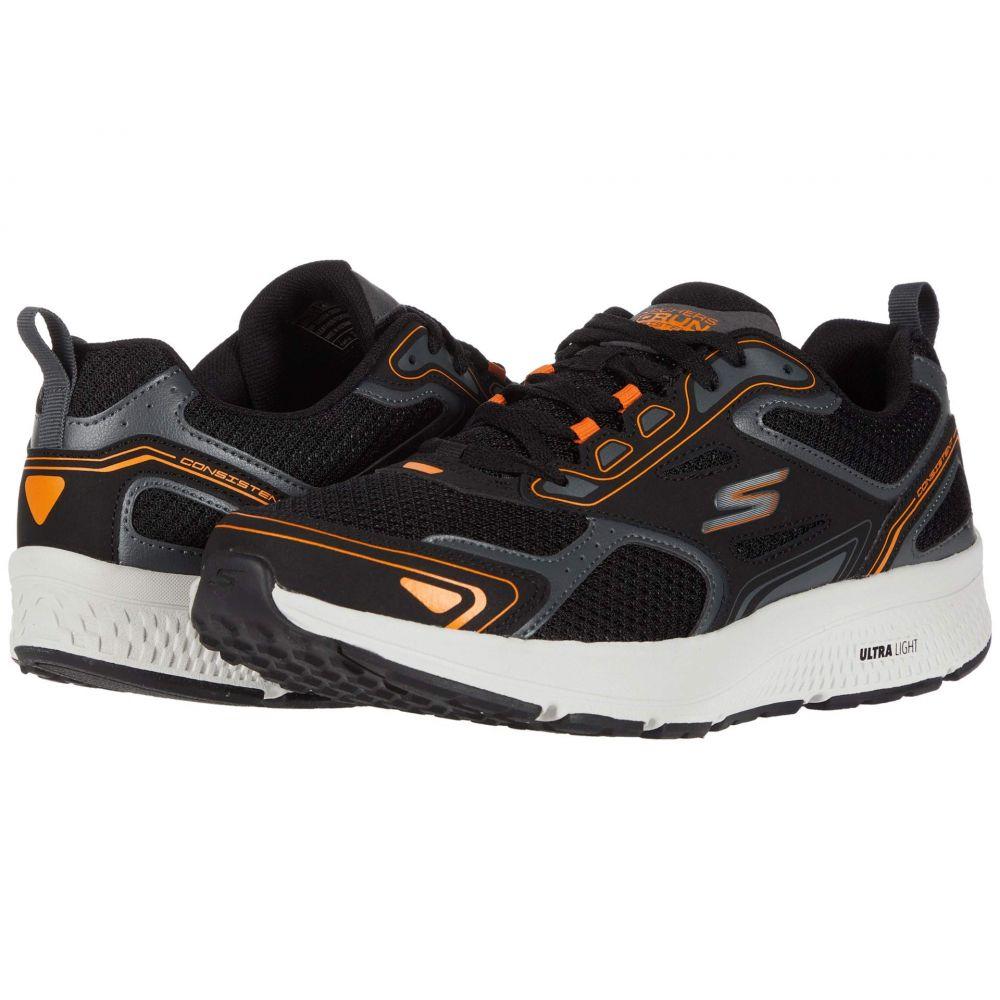 スケッチャーズ SKECHERS メンズ ランニング・ウォーキング シューズ・靴【Go Run Consistent】Black/Orange