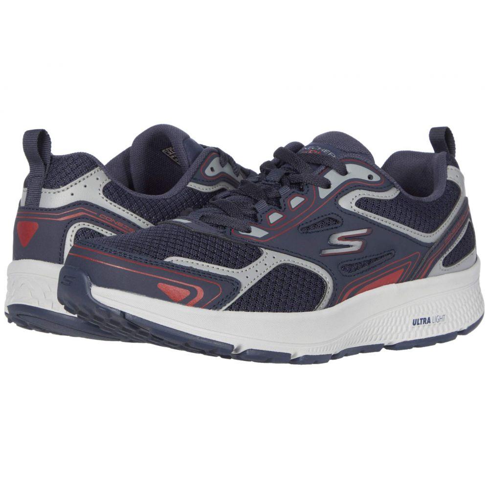 スケッチャーズ SKECHERS メンズ ランニング・ウォーキング シューズ・靴【Go Run Consistent】Navy/Red