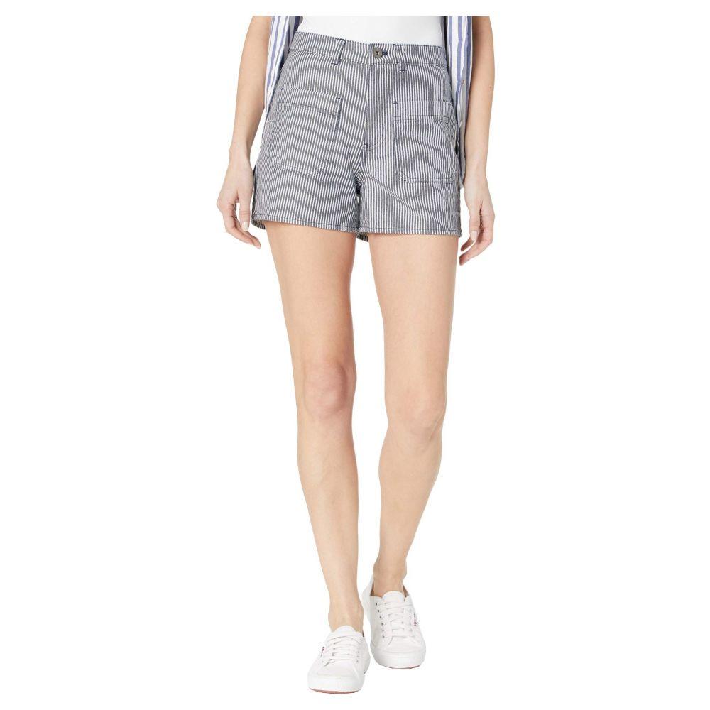 ヴァンズ Vans レディース ショートパンツ ボトムス・パンツ【Barrecks High-Rise Cutoffs Shorts】Dress Blues
