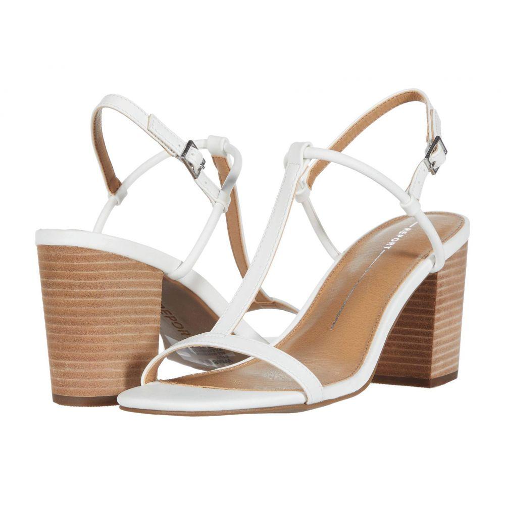 レポート Report レディース サンダル・ミュール シューズ・靴【KYLO1】White