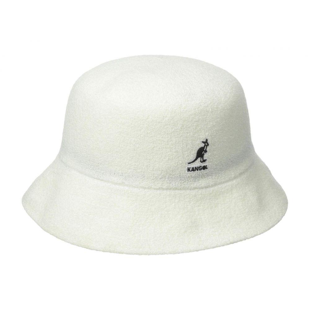 カンゴール Kangol レディース ハット 帽子【Bermuda Bucket】White