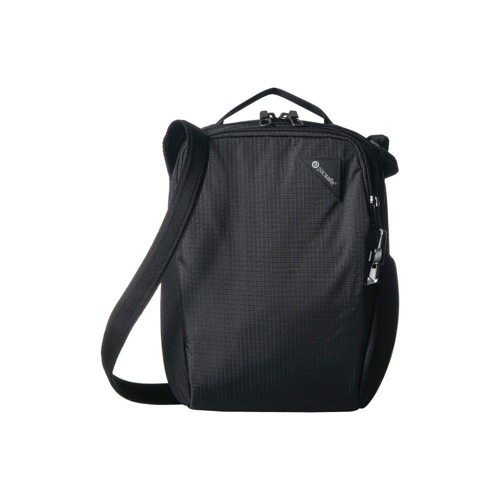 パックセーフ Pacsafe レディース ショルダーバッグ バッグ【Vibe 200 Anti-Theft Compact Travel Bag】Jet Black
