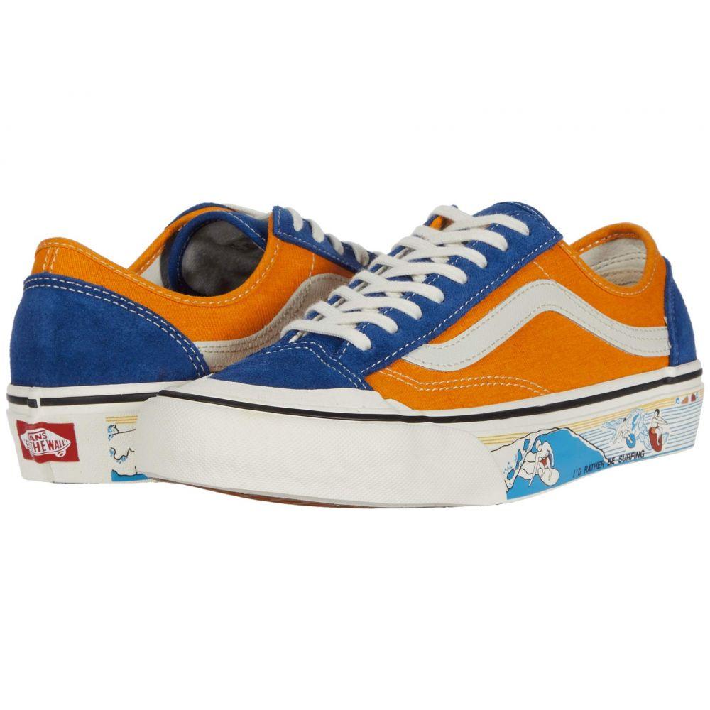 ヴァンズ Vans メンズ スニーカー シューズ・靴【Style 36 Decon SF】True Blue/Cadmium Yellow
