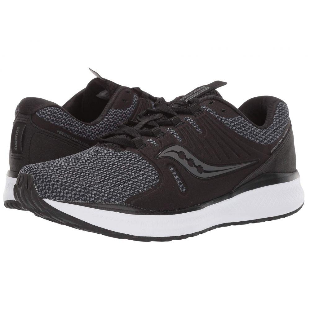 サッカニー Saucony メンズ ランニング・ウォーキング シューズ・靴【Versafoam Inferno】Black/Charcoal
