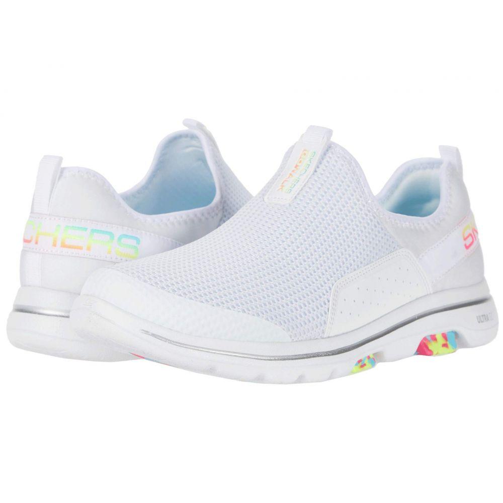 スケッチャーズ SKECHERS Performance レディース スニーカー シューズ・靴【Go Walk 5 - Parade】White/Multi