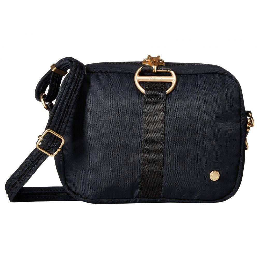 パックセーフ Pacsafe レディース ショルダーバッグ バッグ【Citysafe CX Anti-Theft Square Crossbody Bag】Black