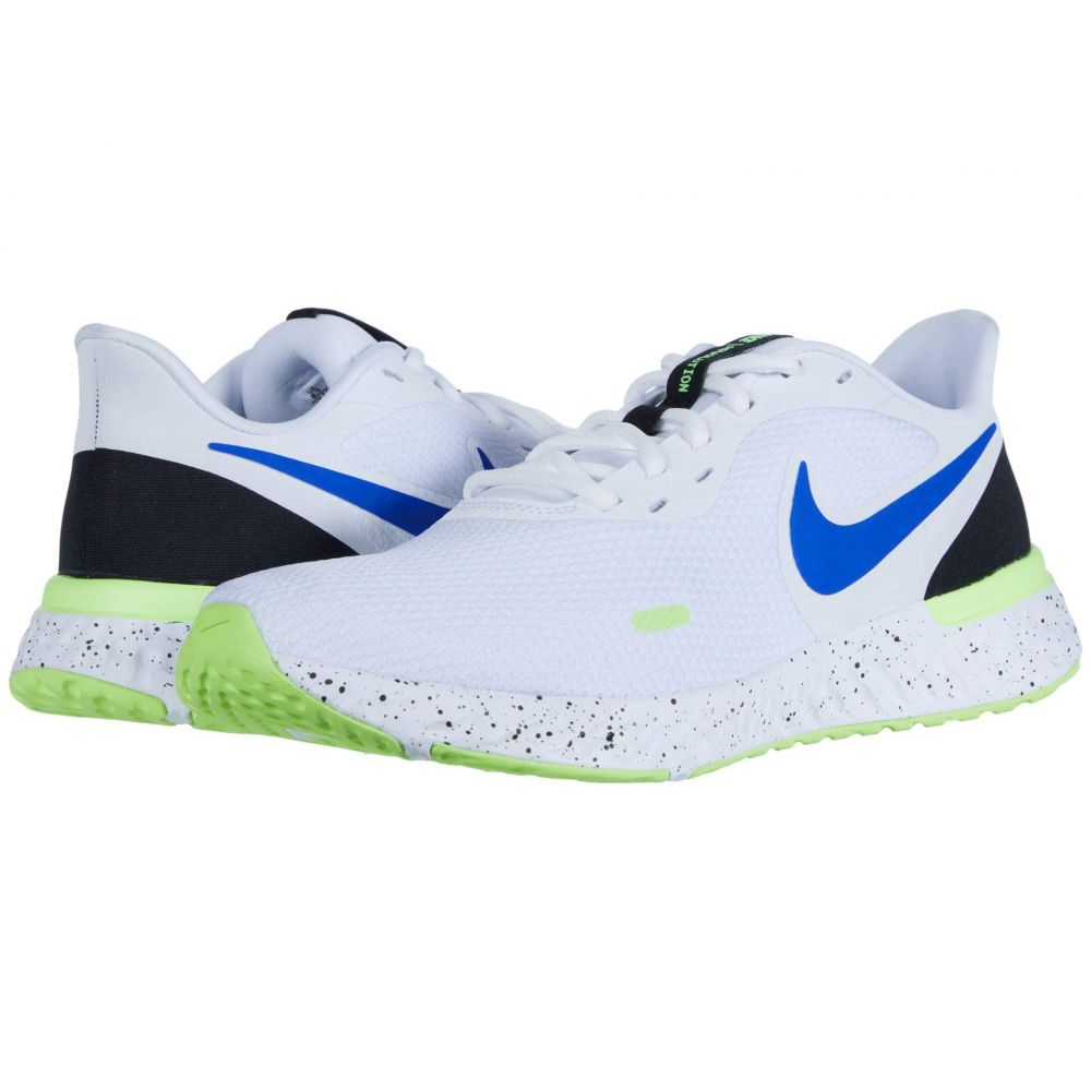 ナイキ Nike メンズ ランニング・ウォーキング シューズ・靴【Revolution 5】White/Racer Blue/Black/Ghost Green