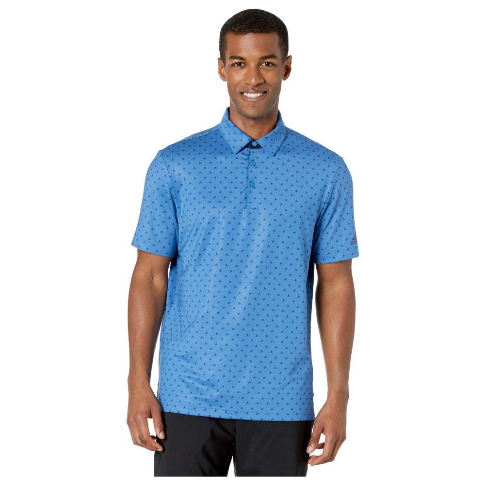 アディダス adidas Golf メンズ ポロシャツ トップス【Ultimate365 Badge of Sport Polo Shirt】Trace Royal/Collegiate Navy