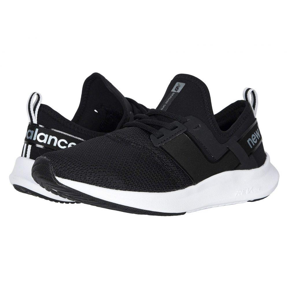 ニューバランス New Balance レディース スニーカー シューズ・靴【Nergize Sport】Black/White Metallic