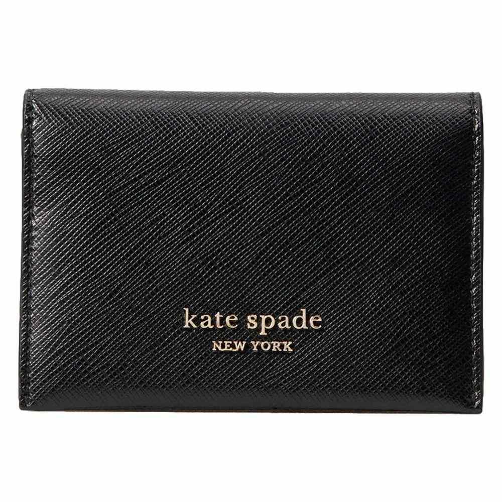 ケイト スペード Kate Spade New York レディース カードケース・名刺入れ 二つ折り【Spencer Bifold Card Case】Black