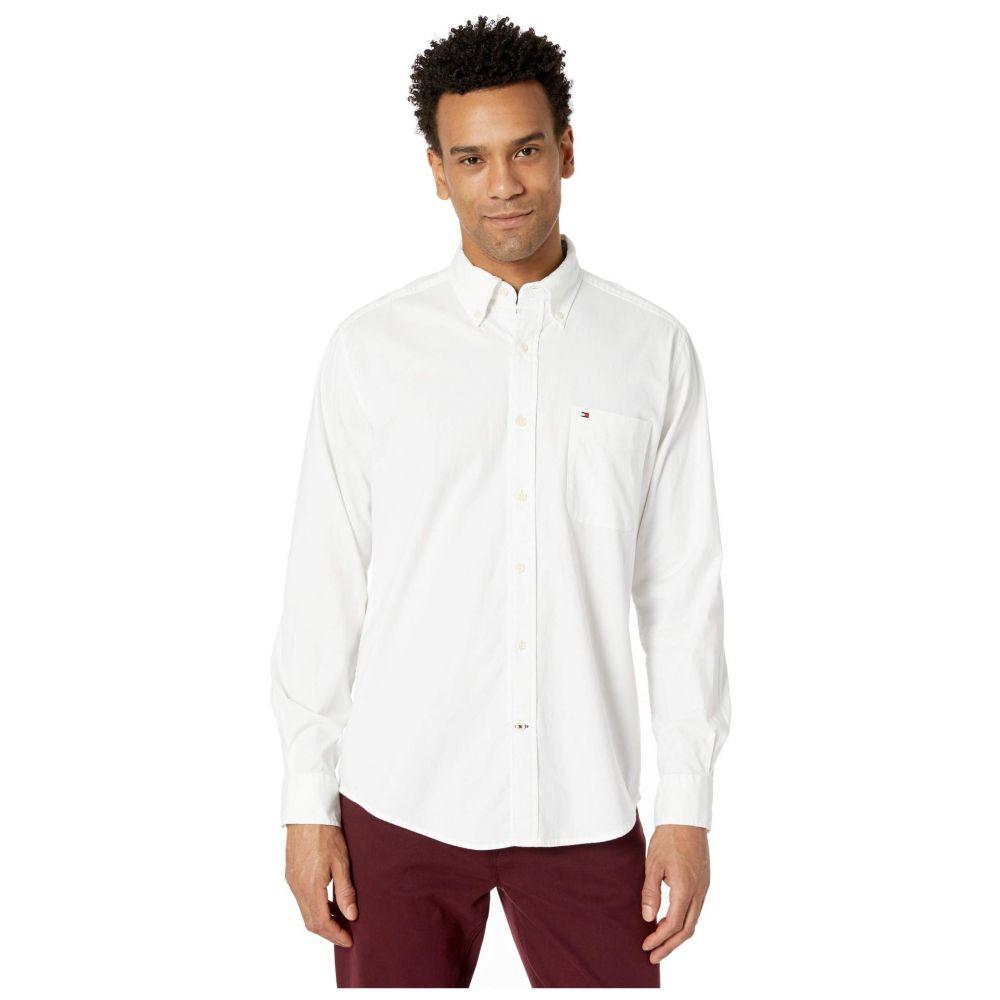 トミー ヒルフィガー Tommy Hilfiger メンズ シャツ トップス【Capote Stretch Shirt Long Sleeve】Bright White