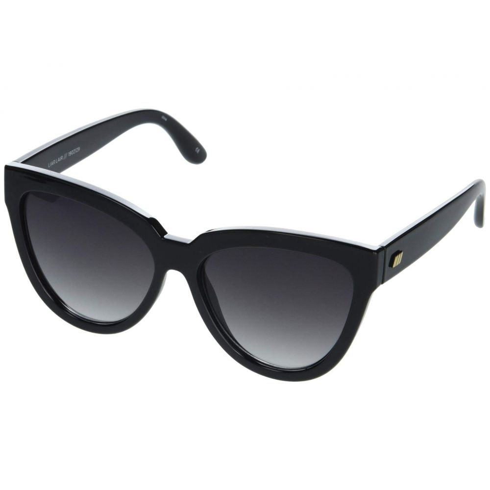 ル スペックス Le Specs レディース メガネ・サングラス 【Liar Lair】Black/Smoke Gradient