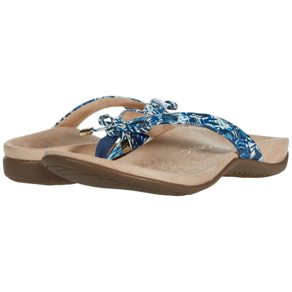 バイオニック VIONIC レディース ビーチサンダル シューズ・靴【Bella II】Blue Palm