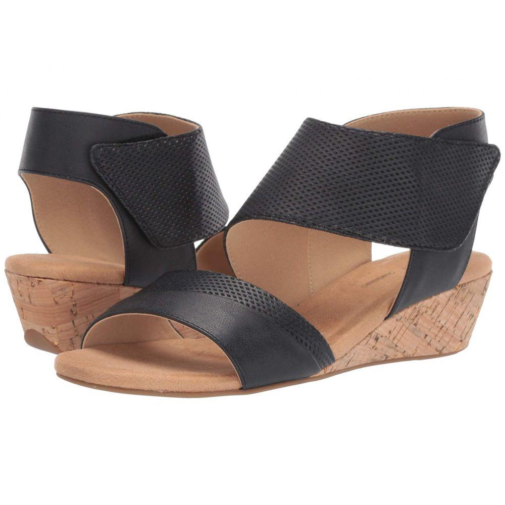 ロックポート Rockport レディース サンダル・ミュール シューズ・靴【Calia Two-Piece Sandal】Black