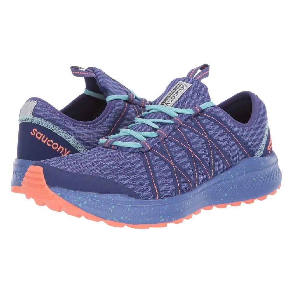 サッカニー Saucony レディース ランニング・ウォーキング シューズ・靴【Versafoam Shift】Blue/Coral