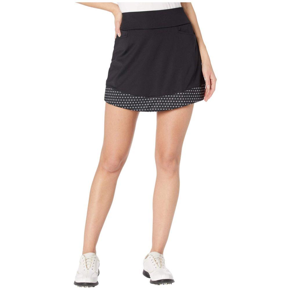 アディダス adidas Golf レディース ミニスカート スコート スカート【Ultimate365 Printed Knit Skort】Black