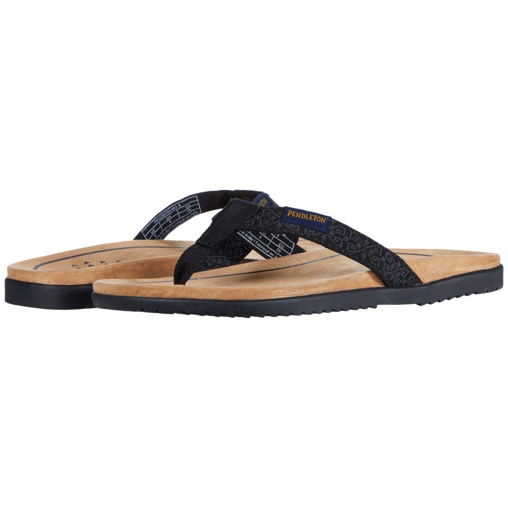 ペンドルトン Pendleton レディース ビーチサンダル シューズ・靴【Agate Beach】Westerly Black