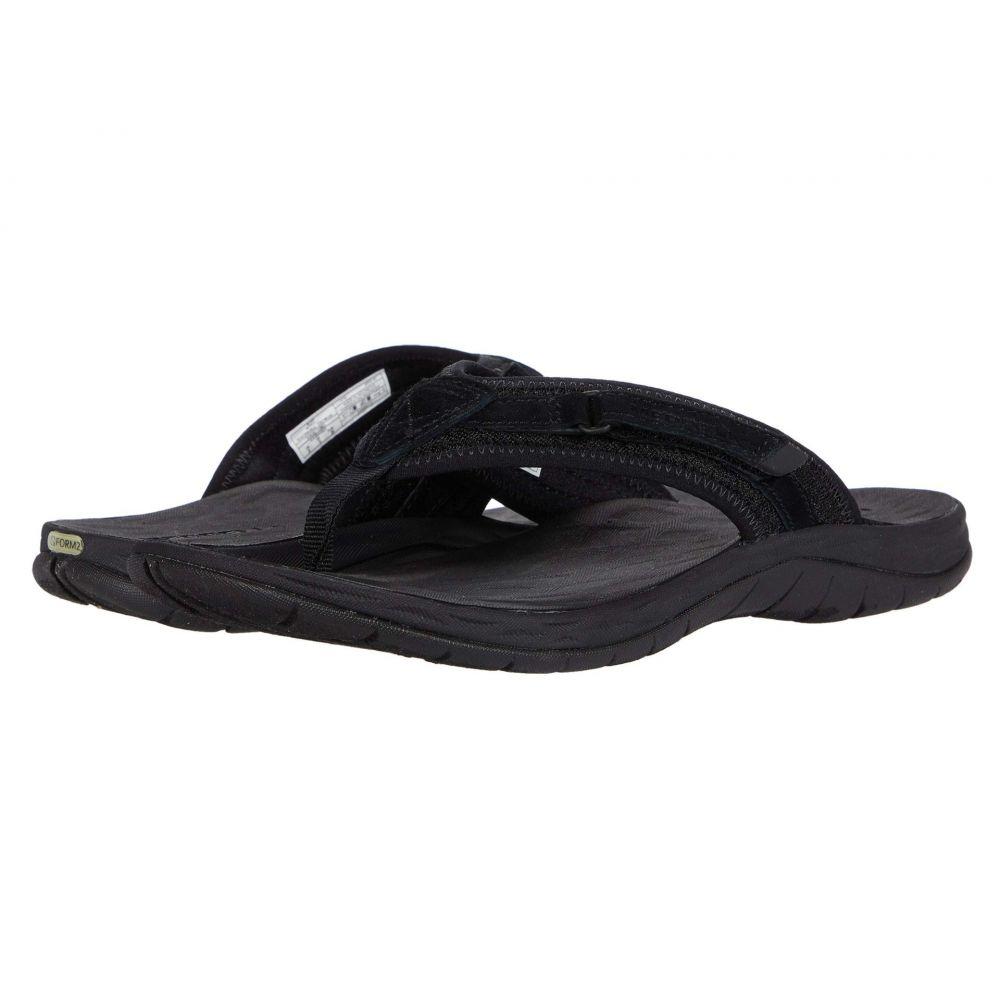 メレル Merrell レディース ビーチサンダル シューズ・靴【Siren 2 Flip】Black