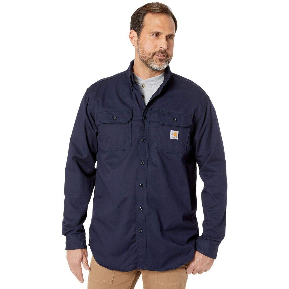 カーハート Carhartt メンズ シャツ トップス【Flame-Resistant (FR) Classic Twill Shirt】Dark Navy