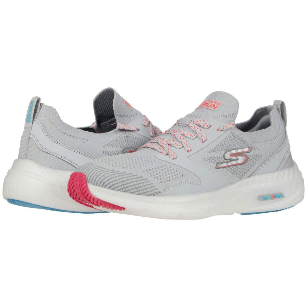 スケッチャーズ SKECHERS レディース ランニング・ウォーキング シューズ・靴【Go Run Smart】Gray/Hot Pink