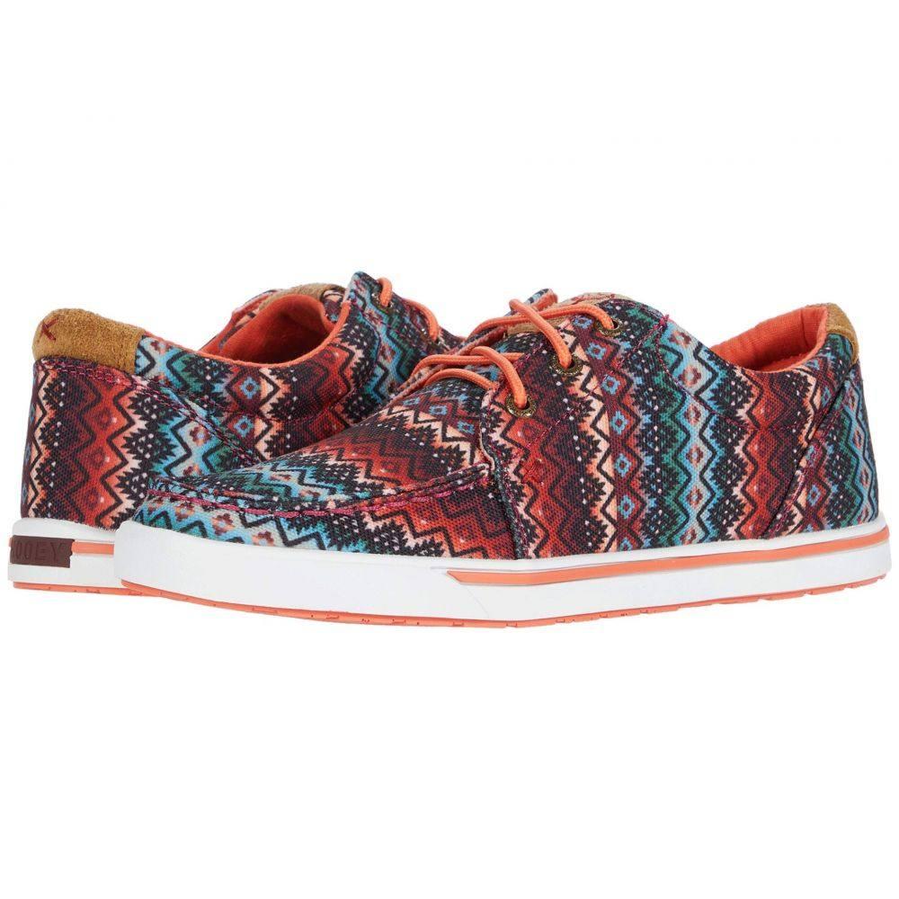 ツイステッドエックス Twisted X レディース スニーカー シューズ・靴【Hooey Loper】Aztec Print