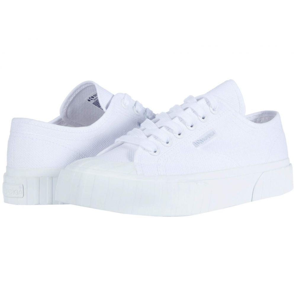スペルガ Superga レディース スニーカー シューズ・靴【2630 Cotu】Total White