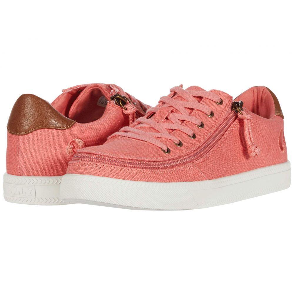 ビリーフットウェア BILLY Footwear レディース スニーカー シューズ・靴【Classic Lo】Coral/White