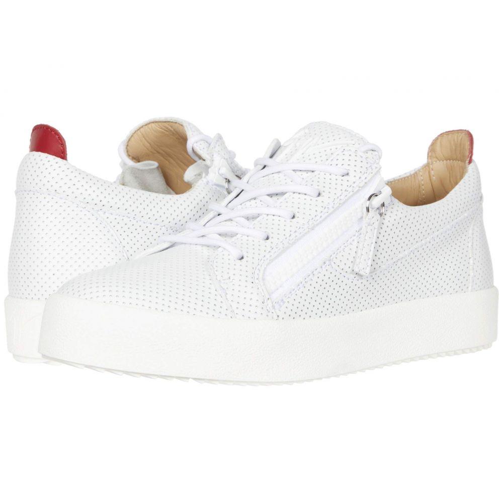 ジュゼッペ ザノッティ Giuseppe Zanotti メンズ スニーカー シューズ・靴【RM00062】White/Red