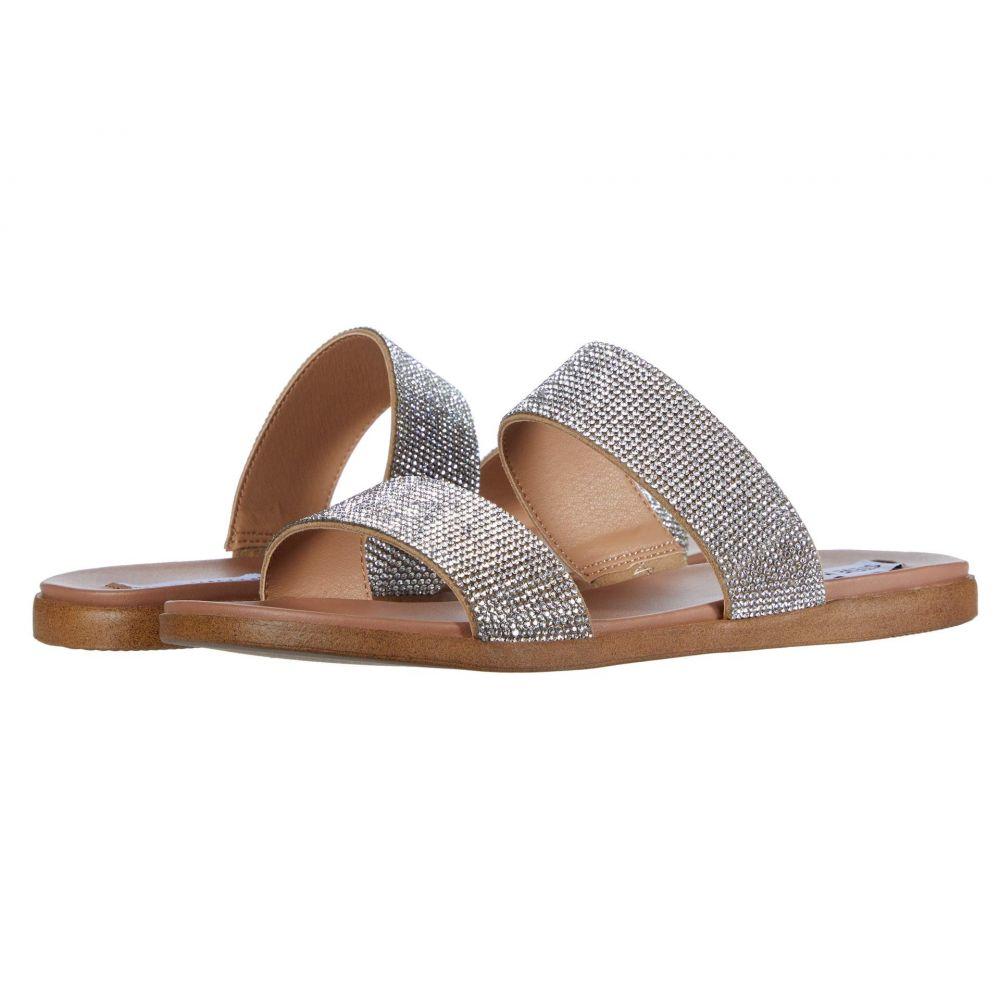 スティーブ マデン Steve Madden レディース サンダル・ミュール フラット シューズ・靴【Dual-R Flat Sandal】Rhinestone