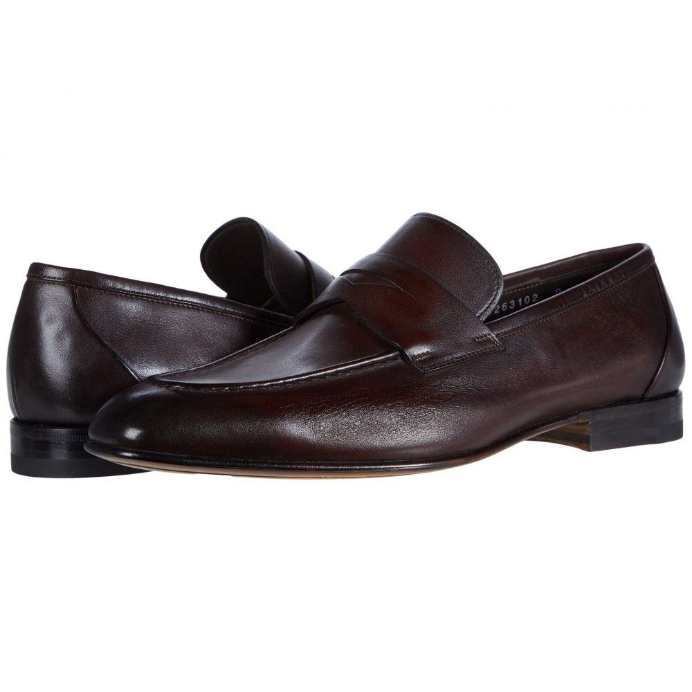 <title>サントーニ メンズ シューズ 靴 ローファー お値打ち価格で Brown サイズ交換無料 Santoni Gannon-2</title>