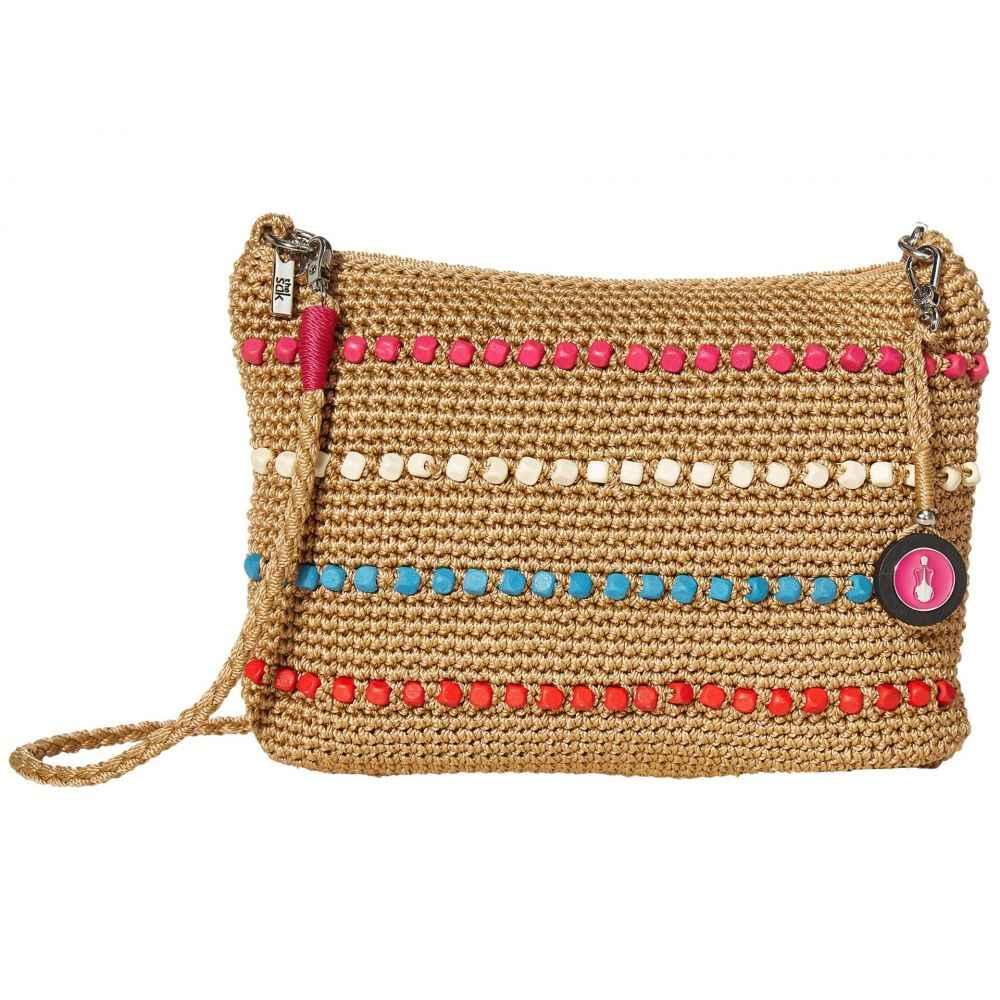 ザ サク The Sak レディース ショルダーバッグ バッグ【Casual Classics 3-in-1 Demi】Camel Multi Wood Beads
