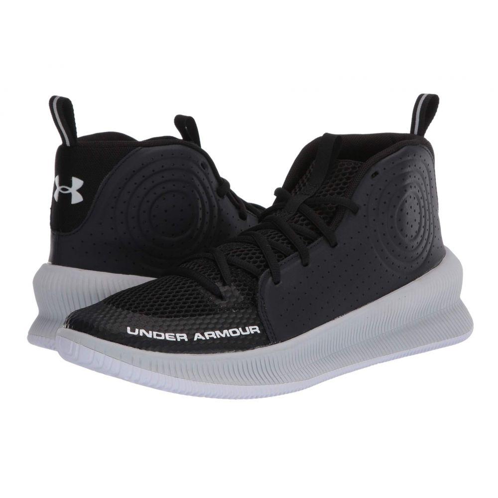 アンダーアーマー Under Armour メンズ バスケットボール シューズ・靴【Jet】Black/Halo Gray/Halo Gray