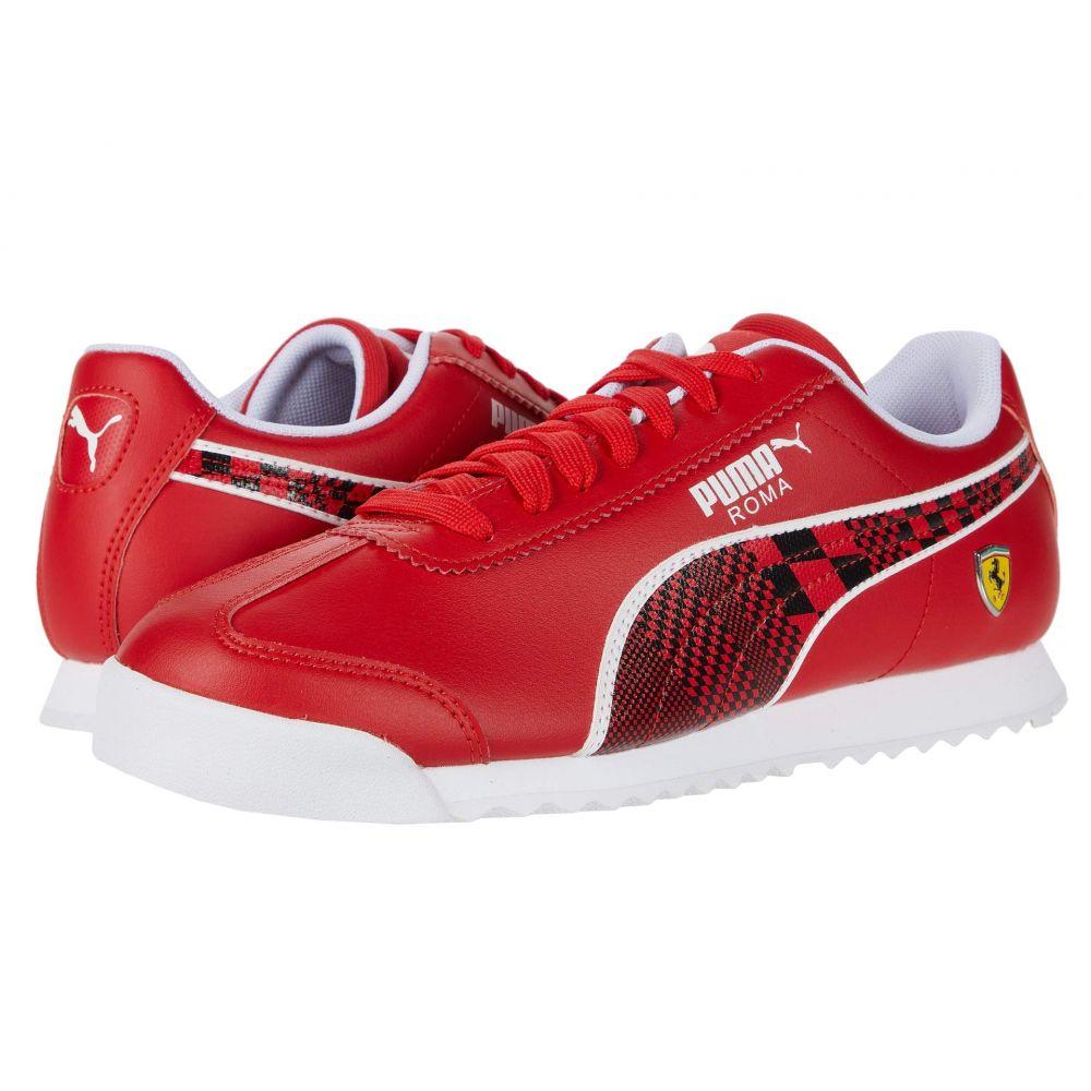 プーマ PUMA メンズ スニーカー シューズ・靴【SF Roma】Rosso Corsa/Puma Black