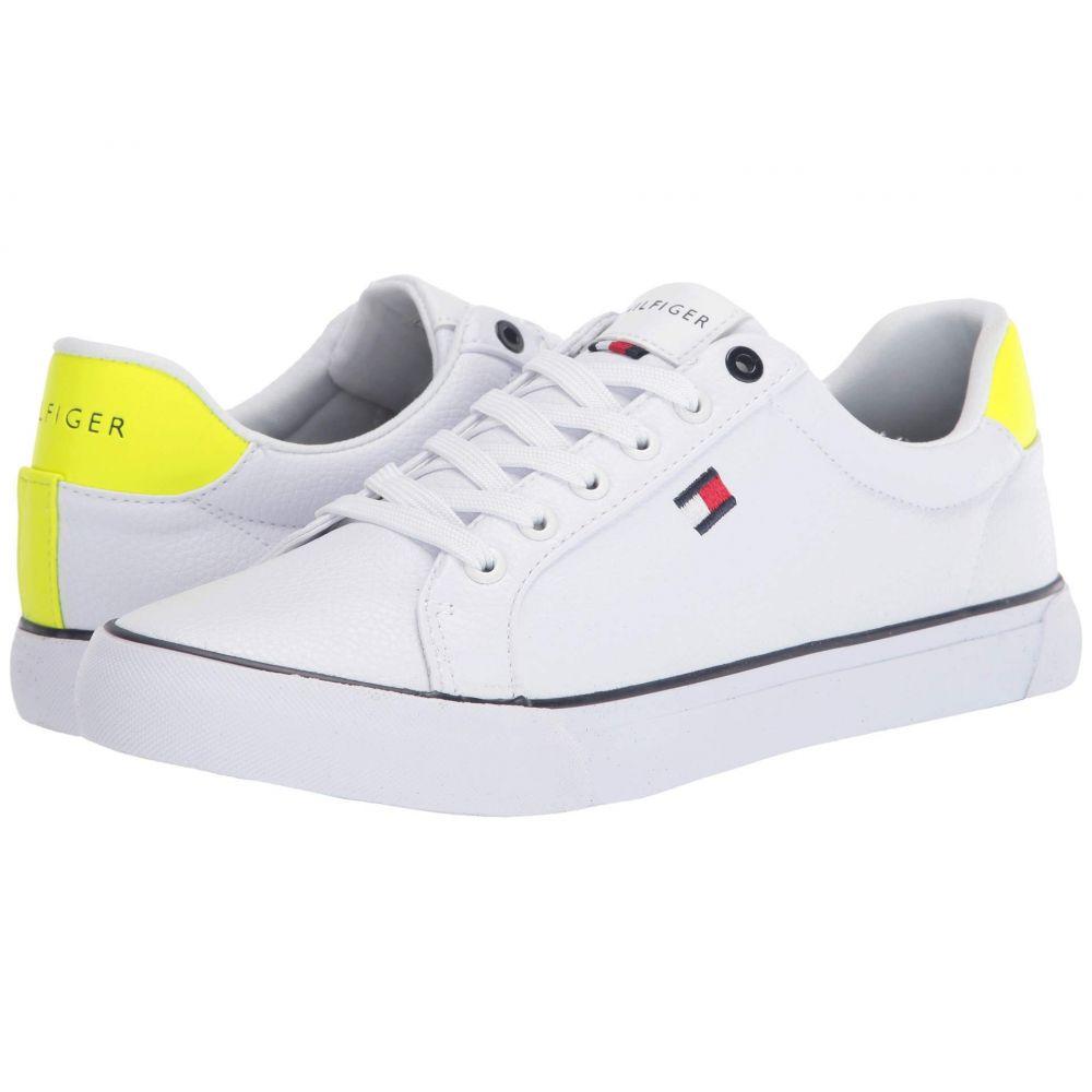 トミー ヒルフィガー Tommy Hilfiger メンズ スニーカー シューズ・靴【Randal】White/Yellow