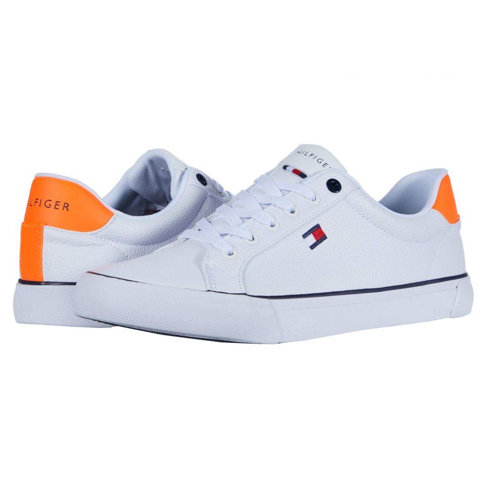 トミー ヒルフィガー Tommy Hilfiger メンズ スニーカー シューズ・靴【Randal】White/Orange