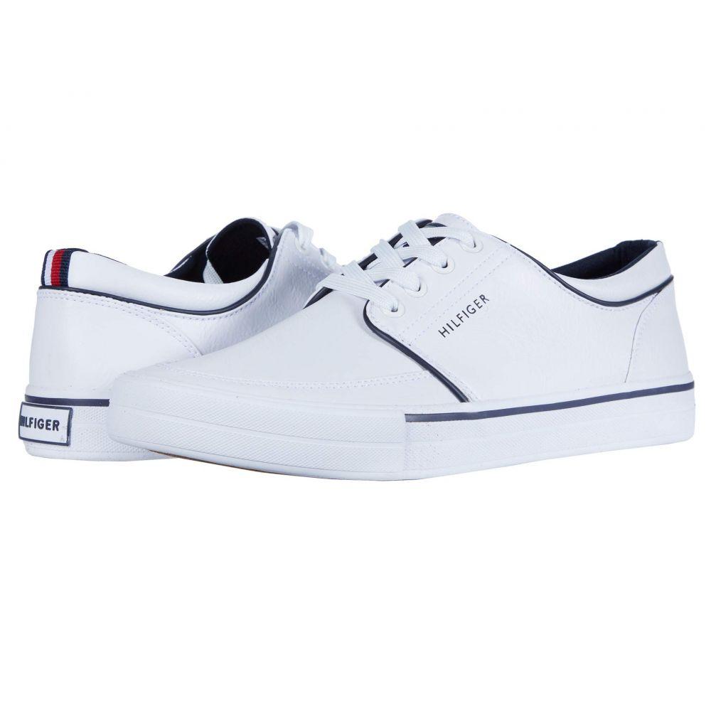 トミー ヒルフィガー Tommy Hilfiger メンズ スニーカー シューズ・靴【Redd 6】White
