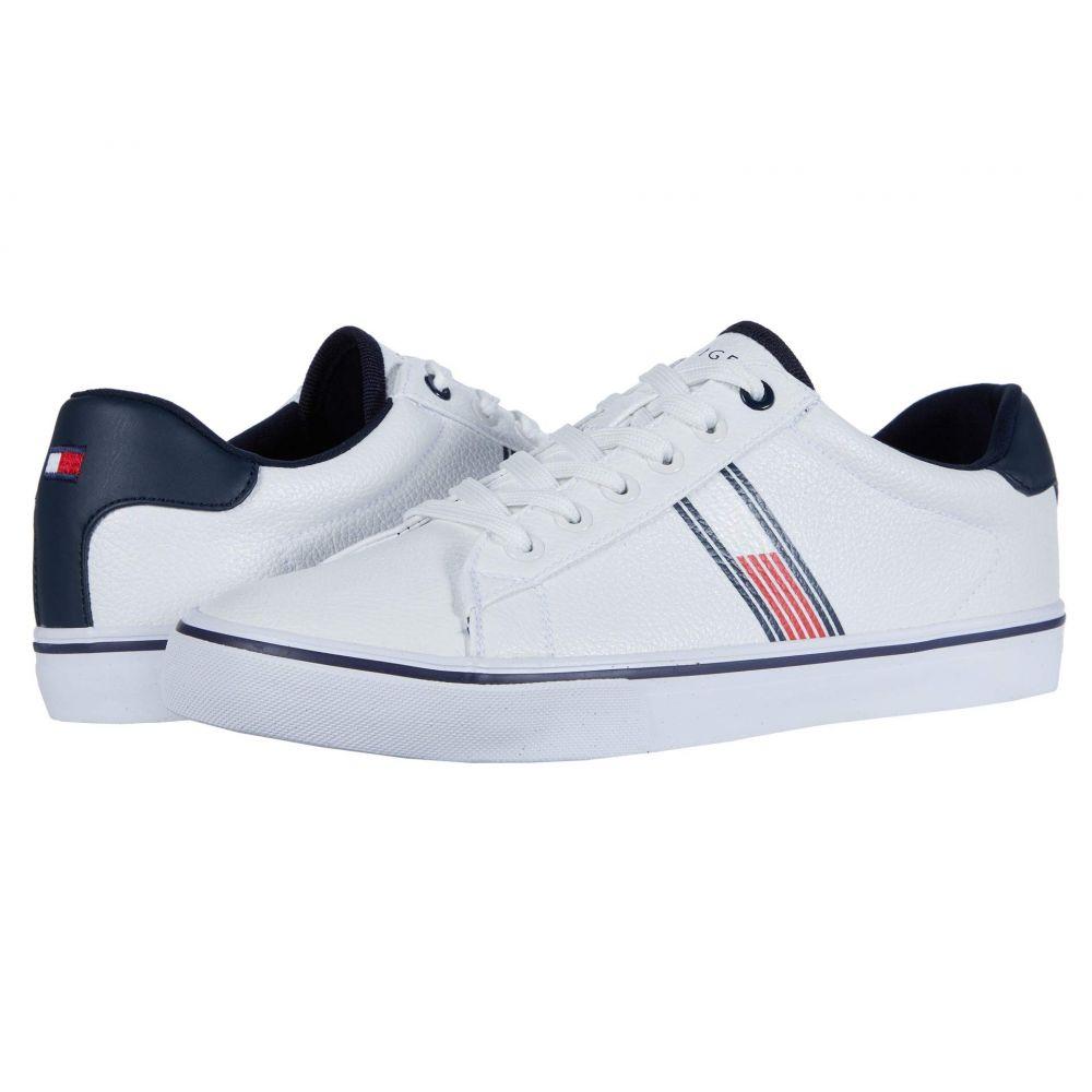 トミー ヒルフィガー Tommy Hilfiger メンズ スニーカー シューズ・靴【Plato】White