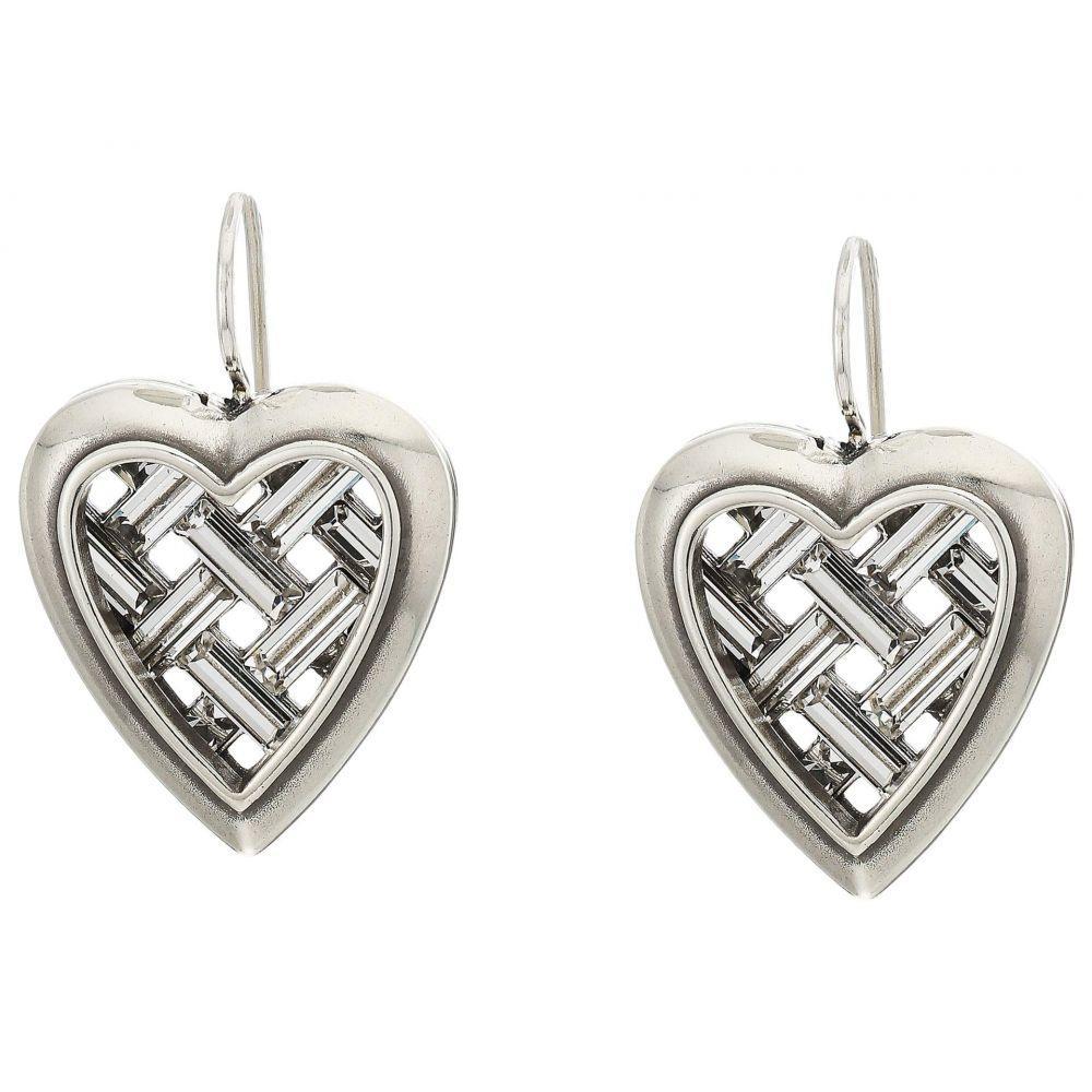 ブライトン Brighton レディース イヤリング・ピアス ハート ジュエリー・アクセサリー【Love Cage Heart French Wire Earrings】Crystal