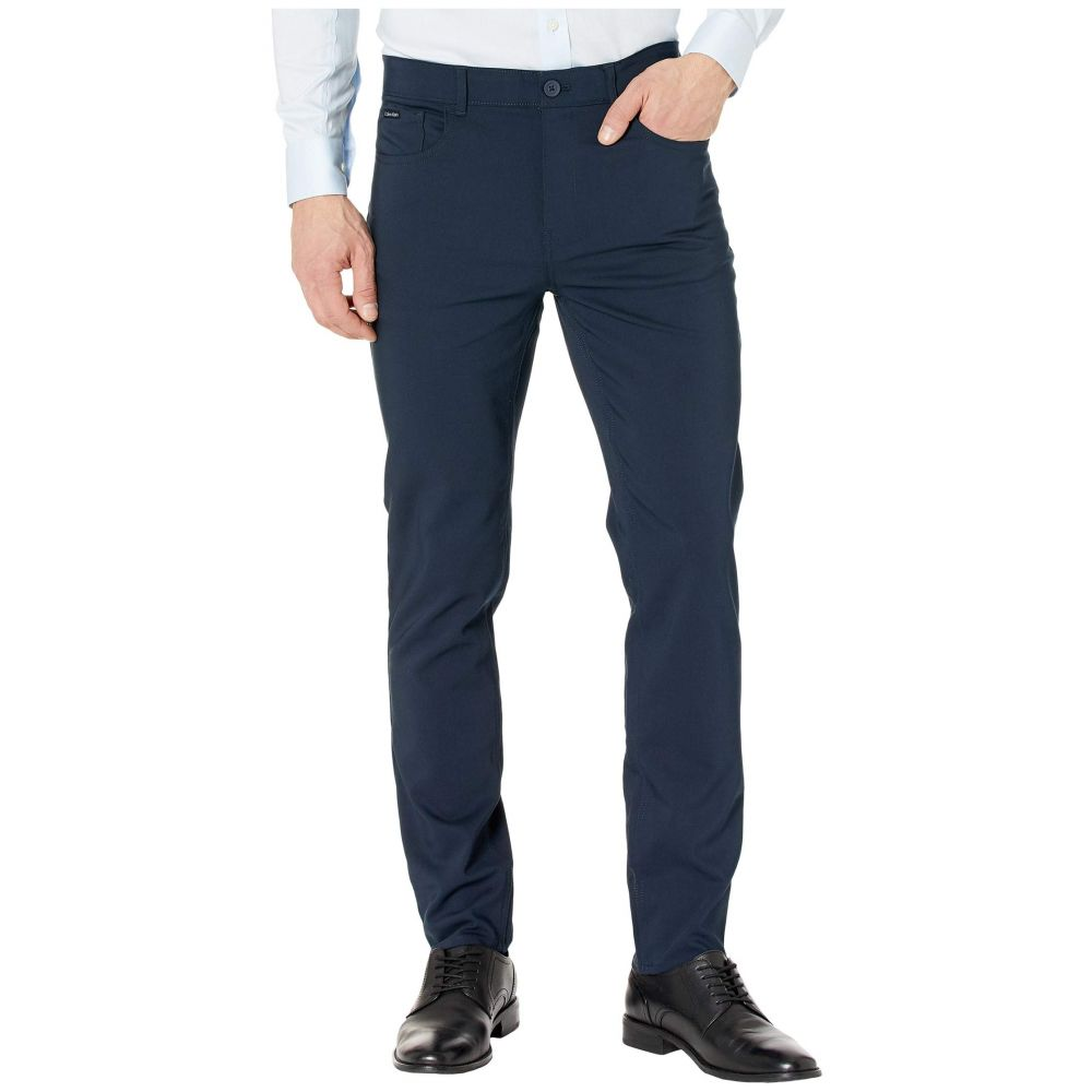 カルバンクライン Calvin Klein メンズ ボトムス・パンツ 【Tech Woven Five-Pocket Casual Pants】Sky Captain