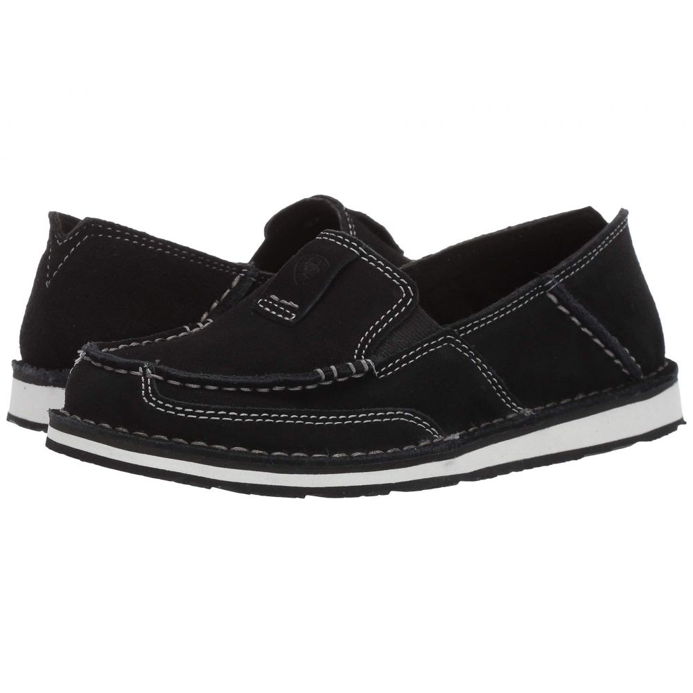 アリアト Ariat レディース ローファー・オックスフォード シューズ・靴【Cruiser】Black Suede