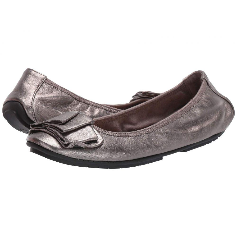ミートゥー Me Too レディース スリッポン・フラット シューズ・靴【Lilyana】Pewter Metallic Nappa