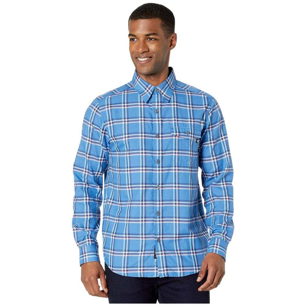 マーモット Marmot メンズ シャツ トップス【Aerofohn Long Sleeve Shirt】Varsity Blue